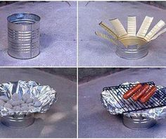 Good idea for cooking in the middle of no where and don't want to start a fire