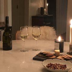 """white wine and quarantine"" Aesthetic Couple, Night Aesthetic, Beige Aesthetic, Aesthetic Food, Badass Aesthetic, Romantic Dinner For Two, Romantic Night, Romantic Dinners, Romantic Picnics"