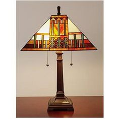 have several lamps like this at my home love the stained glass