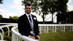 England Cricketer James Anderson at Derby Day 2015 in Epsom, Surrey