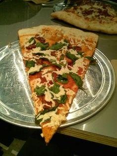 Treehuger vegen pizza