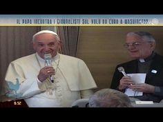 Papa Francesco risponde ai giornalisti sull'aereo diretto negli Stati Uniti | Bel Tempo Si Spera