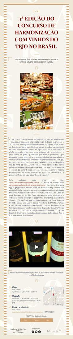 3ª Edição do Concurso de Harmonização com Vinhos do Tejo no Brasil