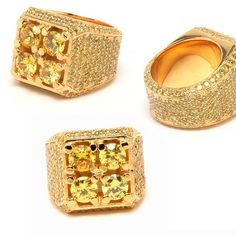 Precious gem and gold ring by Matt Booth, Room 101 Brand Lifestyle.