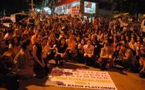 Dersim'de bini aşkın kişi, kadın cinayetine karşı yürüdü
