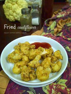Dapur Comel Selma: Fried Cauliflower