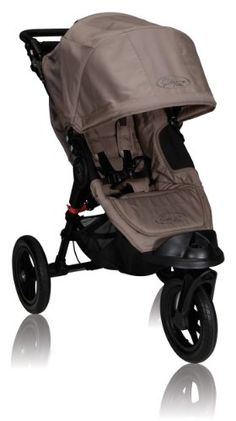Baby Jogger City Elite Single Stroller, Sand $378.88  The City Elite stroller offers modern luxury and comfort over any terrain. This all-terrain deluxe swivel wheel stroller is equipped with patented quick-fold technology with removable auto-lock to keep stroller closed when folded