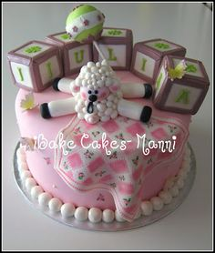 iBake Cakes: Baby Lamb cake