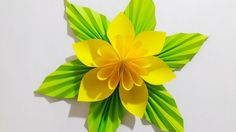 Origami Easy Paper Flower l Very Easy To Make l Paper Craft Ideas l 2017