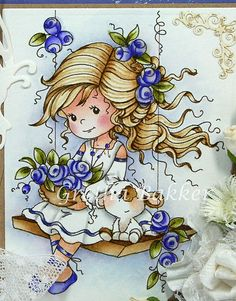 Whimsy Stamps, Digi Stamps, Paint Background, Copics, Fabric Painting, Cute Drawings, Cute Art, Art Images, Cute Pictures
