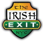 The Irish Exit Bar And Irish Pub in Midtown. The Irish Exit Provide Food And Drink, all type Parties, Drink Specials, Sports Bar, Events in New York. Irish Exit, Irish Bar, Drink Specials, Website, Logo, Logos, Environmental Print