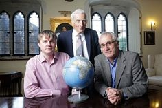 - The Cambridge Centre for the Study of Existential Risk -   Jaan Tallinn, Lord Rees and Huw Price. They believe that machines may pose a threat to human existence and that risk assessments are necessary.