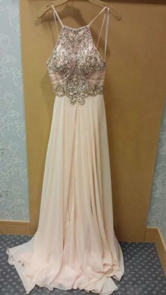 Custom made beading backless prom dresses,A-line beading long prom dresses,2016 evening dress ,grad dresses