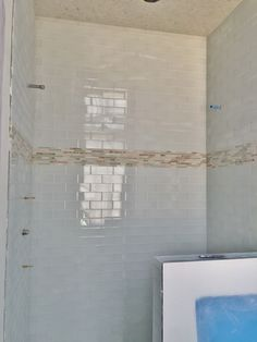 how to tile backsplash in kitchen niche detail at guest shower 12x12 terrazzo tile with 8924