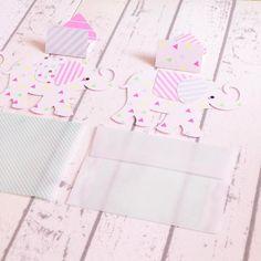 発送しました ぞうさんのカード #Pinkoi  #envelope #handmade #紙モノ #カード #card #ハンドメイド #レトロ印刷 #ハグルマ封筒#pandafactory #pinkoinews