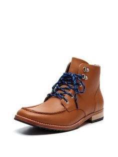 Boyfriend Gift: Brown Leather Ankle Boot $119