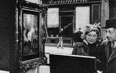 Bid now on Un Regard Oblique (the Absent Minded) by Robert Doisneau. View a wide Variety of artworks by Robert Doisneau, now available for sale on artnet Auctions. Robert Doisneau, Alfred Stieglitz, Old Photography, Street Photography, Paris Vi, Edward Steichen, Saint Yves, Henri Cartier Bresson, Marlene Dietrich