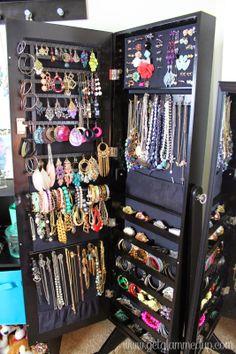 Gold & Silver Safekeeper Anti-Tarnish Jewelry Armoire by Lori ...