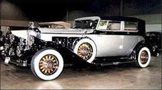 1931 Pierce-Arrow that was converted to electric power by Tesla.
