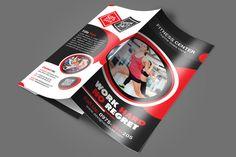 Fitness Gym Brochure Template   Brochure Template Brochures