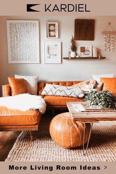 The perfect addition to your living room. See how Kardiel styles a space. Boho Living Room, Home And Living, Living Room Decor, Bedroom Decor, Wall Decor, Mid Century Modern Furniture, Living Room Inspiration, Apartment Living, Living Room Designs