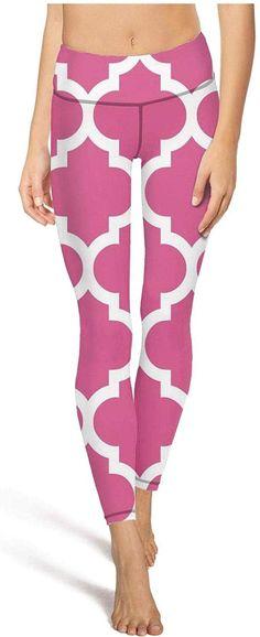 Junnanp Orange Stripes Yoga Pants for Women Girls Workout High Waisted Leggings