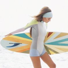 Cynthia Rowley designed for surf label Roxy.