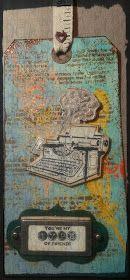 Look in the box: 52 semanas: Nuevos tags 52 Weeks, Vintage World Maps, Scrap, Scrap Material