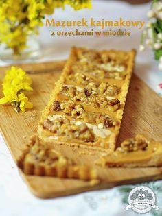 Raw Food Recipes, Cake Recipes, Dessert Recipes, Cooking Recipes, Polish Desserts, Polish Recipes, Polish Food, Sweets Cake, Gastronomia