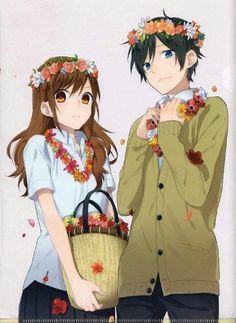 Find images and videos about anime, manga and anime couple on We Heart It - the app to get lost in what you love. Manhwa, Kawaii Cute, Kawaii Anime, Horimiya, Hyouka, Naruto E Boruto, Estilo Anime, Manga Couple, Ecchi