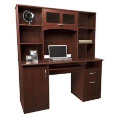 Landon Desk With Hutch Cherry Landon Desk With Hutch, Cherry Officemax,http://www.amazon/dp