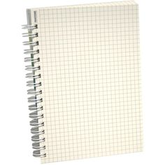 Graph Paper Notebook ❤ liked on Polyvore featuring home, home decor and stationery