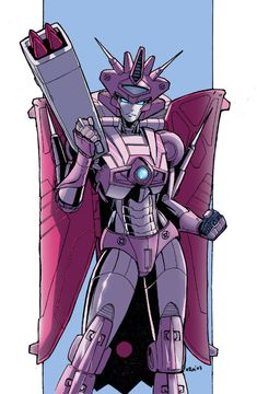 """Don't deny it Naomi Prime you were the one who killed Elita 1! You were once a Decepticon, but now look at you a Prime. Just imagine what Optimus would say if he found out the truth."" Ragina said."