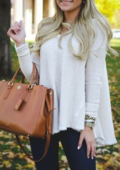 Outfit | Fall Swing Sweater