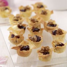 Blackcurrant, Brie and Walnut Tartlets | image.ie