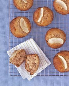 Chunky Apple Muffins - A can't-resist breakfast treat combines autumn's flavors: cinnamon, toasted nuts, and tart Granny Smith apples.