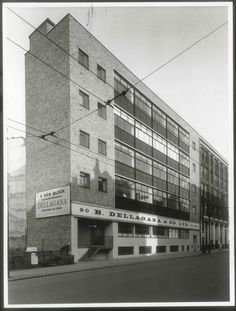 Nos 90–94 Clerkenwell Road, newly completed in 1957  London Metropolitan Archives photograph (57/3945)