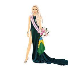 Miss Stardoll World 2016 - Stardoll | Português/BR