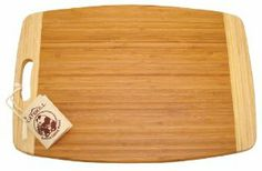 Catskill Craftsmen 19-Inch Bamboo Cutting Board by Catskill Craftsmen. $26.05. A great gift idea. Reversible. Dimensions: 19-Inches Wide by 13-Inches Deep by 3/4-Inches Thick. Renewable Resource. Knife Friendly. Products offered by Catskill Craftsmen are made from naturally self-sustaining, non-endangered North American hardwoods, primarily birch and hard rock maple. Lumber is purchased from area sawmills, then dried, manufactured, and packaged on site. All sawd...