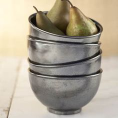 Juliska Pewter Stoneware Juliska Pewter Stoneware has a rich, old-world luster that summons up visions of grand European estates. Grey Dinnerware, Interior Design Kitchen, Kitchen Designs, Antique Pewter, Cereal Bowls, Online Gifts, Cool Items, Kitchen Dining, Kitchen Decor