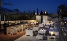 Blog del Hotel Santos Nelva****: Invitación al Chill Out Bar