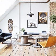 Tour a Furniture Designer's Historic Apartment in Denmark
