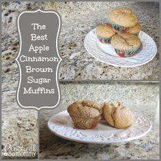Apple Cinnamon Brown Sugar Muffin Recipe