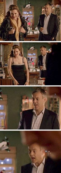 Lestrade be like: WOW MOLLY YOU LOOKIN' FINE TODAY.