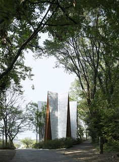 Sayama Lakeside Cemetery Chapel. Hiroshi Nakamura&NAP Co.,Ltd.
