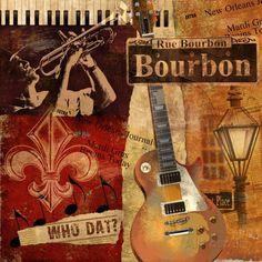 Bourbon Street Kunstdruck
