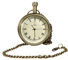 Classic Smooth Vintage Roman Numeral Metal Gold Color Mens Womens Pocket Watch - 4.6 CM RoyaltyLane http://www.amazon.co.uk/dp/B01C6XPLG6/ref=cm_sw_r_pi_dp_7cO3wb0P2HNMP