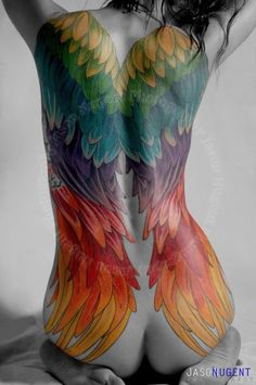 I plan to get a variation of this on my back eventually. <3 this