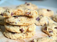 Chocolate chip cookies, peanut butter cookies, and oatmeal cookies are definitely my favorite kinds of cookies. If I had to pick one, I'd...