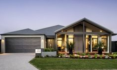 Choose your dream home design now with Dale Alcock. Available in Perth or the South-West. Modern Architecture House, Modern House Design, Architecture Design, Display Homes, Facade House, House Facades, Dream House Plans, Story House, New Home Designs